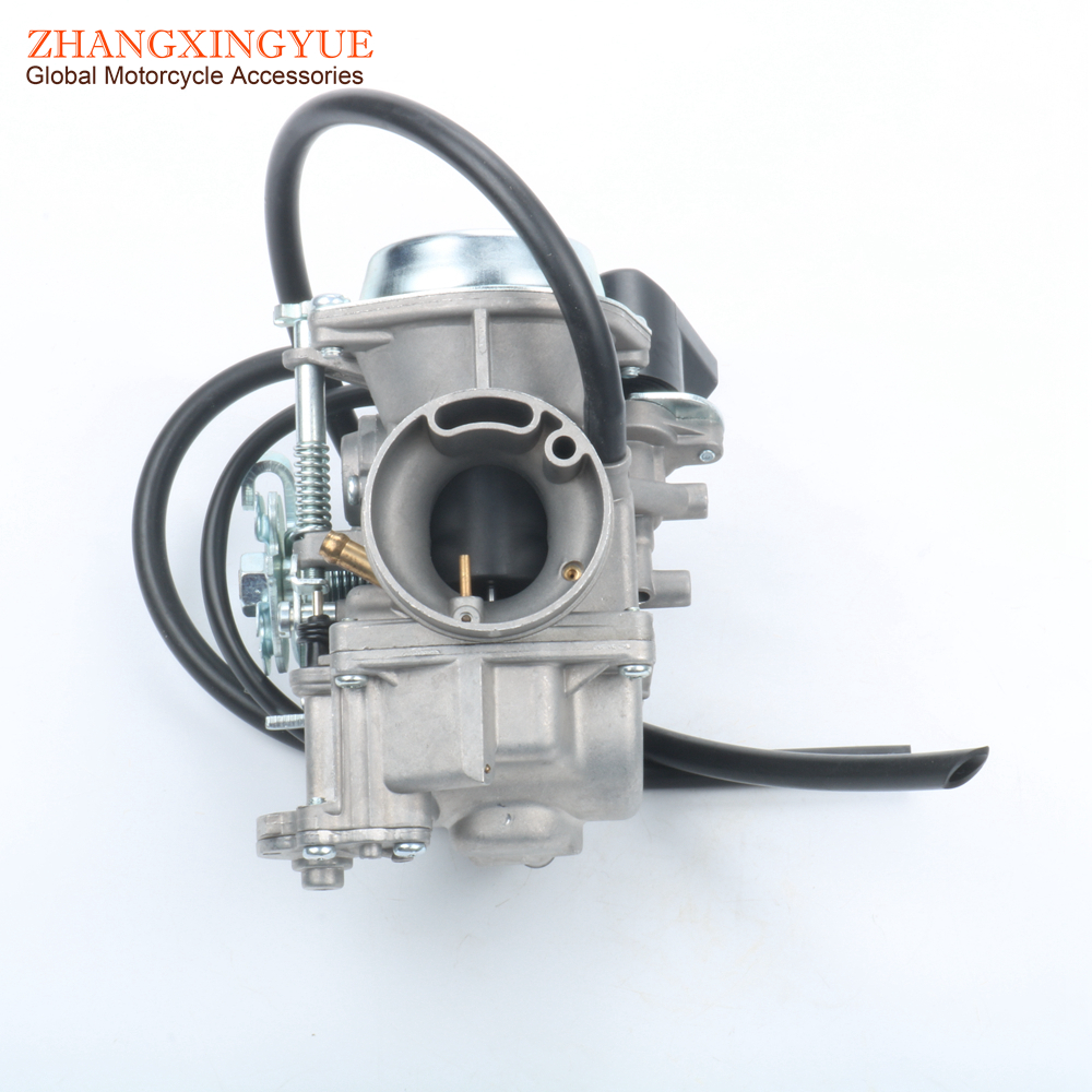 PD30J CARBURETOR for YAMAHA ATV250 YP250 MAJESTY 250 SCOOTER ATV 250cc 300cc motorcycle cylinder kit 250cc engine for yamaha majesty yp250 yp 250 170mm vog 257 260 eco power aeolus gsmoon xy260t atv page 4
