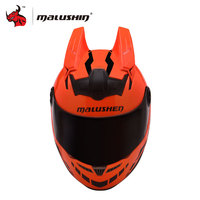 NENKI Men Motorcycle Helmet Novelty Motocross Helmet Flip Up Helmet Open Face Moto Helmet Casco Moto
