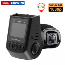 Promo offer Conkim Novatek Chip Car DVR Dash Cam Camera GPS 1080P Full HD 135 Degree Angle Super Capacitor Car Digital Camera Pro B40C