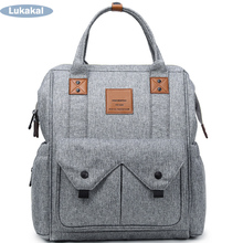 Large Capacity Mummy Maternity Diaper Bag BackPack On Stroller Baby Nappy Bag Multifunctional Mummy Bag Nursing For Baby Care
