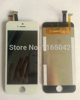 ZHIZU touch screen TFP040460A with LCD display Glass Panel QWF400019A FOR china imitation android phone i5 5s