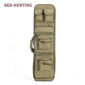 85cm/95cm/120cm Tactical Rifle Gun Shotgun Carry Case Bag Backpack Military Hunting Bag mud Army Green 3