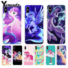 Yinuoda My Little Pony DIY Painted Beautiful Phone Accessories case for Apple iPhone 8 7 6 6S Plus X XS max 5 5S SE XR Cover(China)