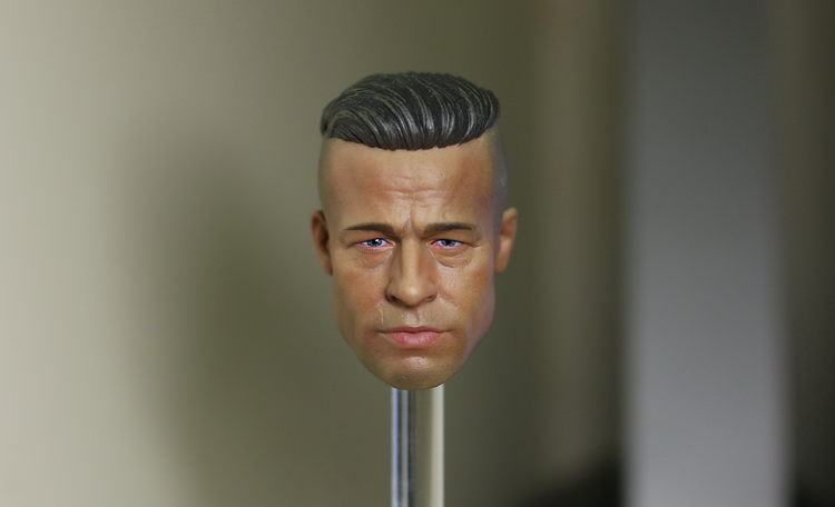 1/6 scale figure doll head shape for 12 action figure doll accessories Fury figure Brad Pitt doll male Head carved 1 6 scale figure doll head shape for 12 action figure doll accessories iron man 2 whiplash mickey rourke male head carved