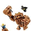 ЛЕПИН Бэтмен Серии Clayface Splat Нападение Строительные Блоки Кирпичи Фильм Модель Детей Игрушки Marvel Совместимость Legoe