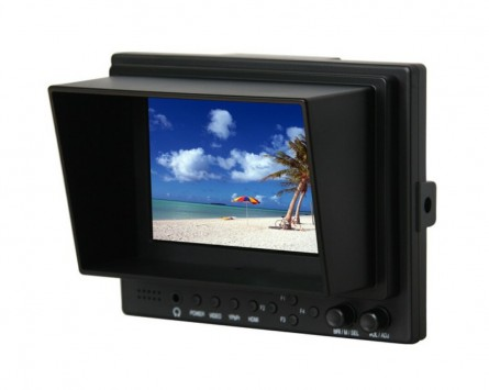 Professional LILLIPUT 5 569 / P,TFT LCD Monitor With HDMI, YPbPr, AV Input HDMI Output / With Battery Plate