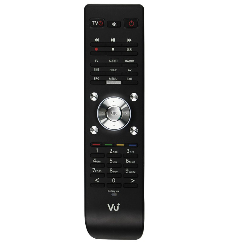 New Fashion VU Duo 2 TV Remote Control Replacement Remote Controller for VU Duo 2 Vu Duo2 Web TV Satellite Receiver new tv engf9304gf engf9304