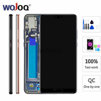 for Huawei P20 LCD Screen Touch Screen Digitizer Assembly EML L29 L22 L09 AL00 P20 LCD Display With Frame Replacement Parts