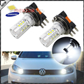 2 unids 1500 lúmenes samsung led 3535-smd h15 xenon blanco led bombillas para audi bmw mercedes volkswagen diurna luces