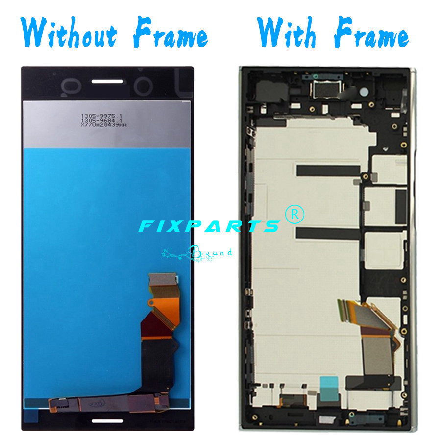 Sony Xperia XZ Premium LCD Display Touch Screen Digitizer With Frame