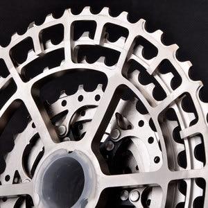 Image 4 - shimano M6000 MTB 10 Geschwindigkeit SLR Fahrrad Kassette 11 46 T Breite Verhaltnis CNC Ultraleicht Freilauf Mountainbike M8000