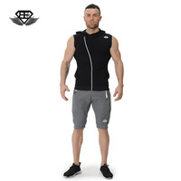 Body Engineers 2017 Men S Tight Muscle Gyms Casual Sleeveless Sweater Vest Men Breathable Fitness Sweatshirt