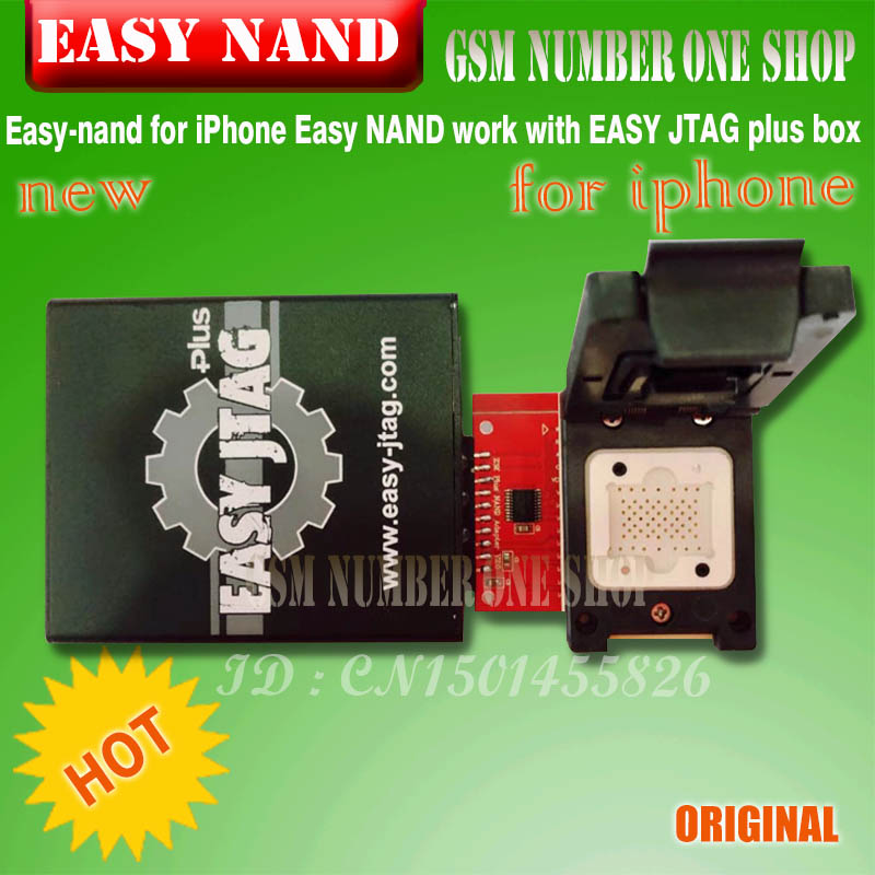 2019 Latest Version Easy-nand EASY NAND For Iphone Socket  Easy NAND Work With EASY JTAG Plus Box