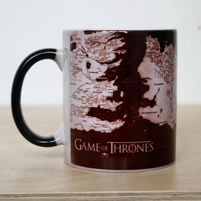 Game Of Thrones – Heat Reveal Ceramic Coffee Mug