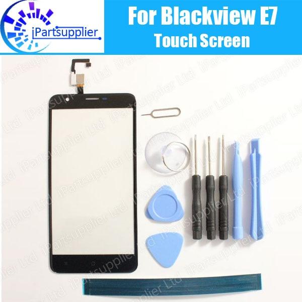 Blackview E7 Touch Screen Panel 100% Guarantee New Original Glass Panel Touch Screen Glass Replacement For Blackview E7 + Tools