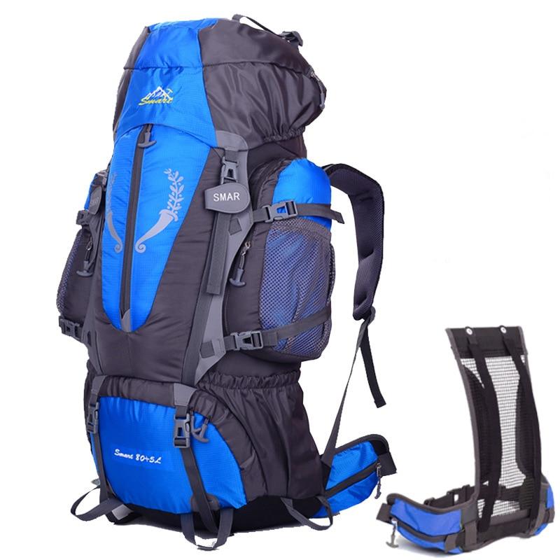 Onedoyee 85L sac à dos de randonnée en plein air voyage escalade sacs à dos randonnée grande capacité sacs à dos Camping étanche sac à dos