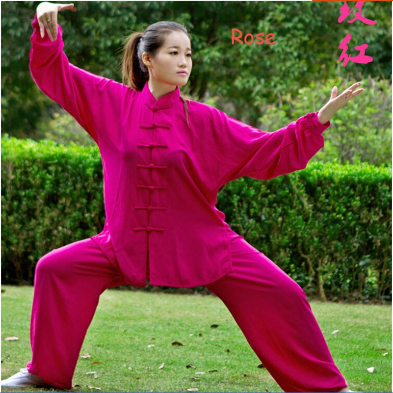 2016 New Spring And Autumn Tai Chi Clothing Kung Fu Clothes Martial Arts Clothing Tai Chi Uniforms Morning Exercise Clothings