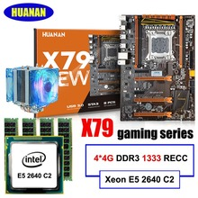 Empfehlen HUANAN deluxe X79 LGA2011 motherboard set Intel Xeon E5 2640 C2 RAM 16G (4*4G) DDR3 1333 RECC mit CPU fan