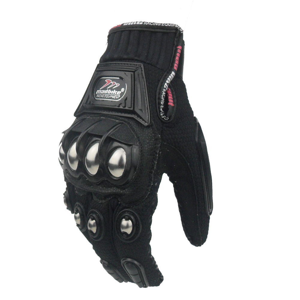 Motorcycle gloves for summer - Motorcycle Gloves Summer Motorbike Motocross Gloves Xxl Motocicletas Mesh Gloves Fingers Luvas Para Moto Guanti Black