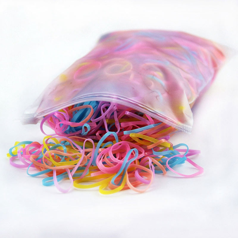 100pcs  Hot Sale Cheap Products Dog Accessories Hair Rubber Bands Grooming Elastic Rubber Band Cats Supplies Yorkshire Honden