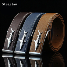 2017 New Unisex Adult Pu Faux Leather Novelty Solid Belt Luxury Brand Leather For Strap Designer Real Cowhide Man U125