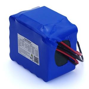 Image 4 - Batteria a scarica VariCore 12V 20Ah ad alta potenza 100A protezione BMS uscita 4 linee 500W 800W 18650 batteria caricabatterie 12.6V 3A
