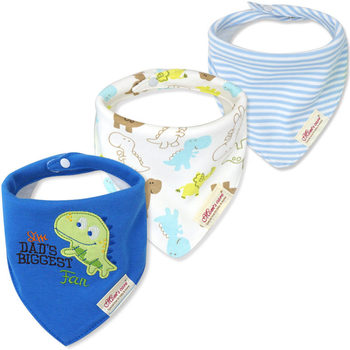 3pcs/lot Baby Bibs Bandana Lot 100% Cotton High Quality Babadores Para Bebe Infant Saliva Towel for Boys and Girls 1