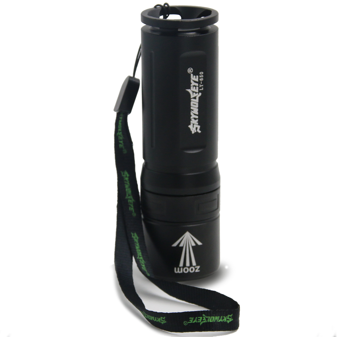 Portable LED Flashlight Torch 500LM 18650/26650 Flash Light for Outdoor Mountaineering Dedicated Flashlight P0
