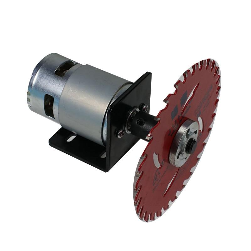 Alto par 288W 12000rpm 12V 24V 795 Motor máquina de corte multifuncional para cortacésped, aleación de aluminio, placa de acero y azulejo