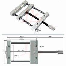 Precisión QGG vice 140mm para cnc jig para fresadora cnc máquina plana pinzas