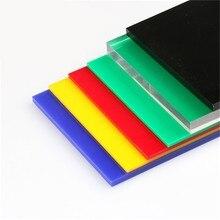 300x200x2.7mm Acrylic Board Glossy Multicolor Translucent Plexiglass Plastic Sheet Organic Glass Polymethyl Methacrylate