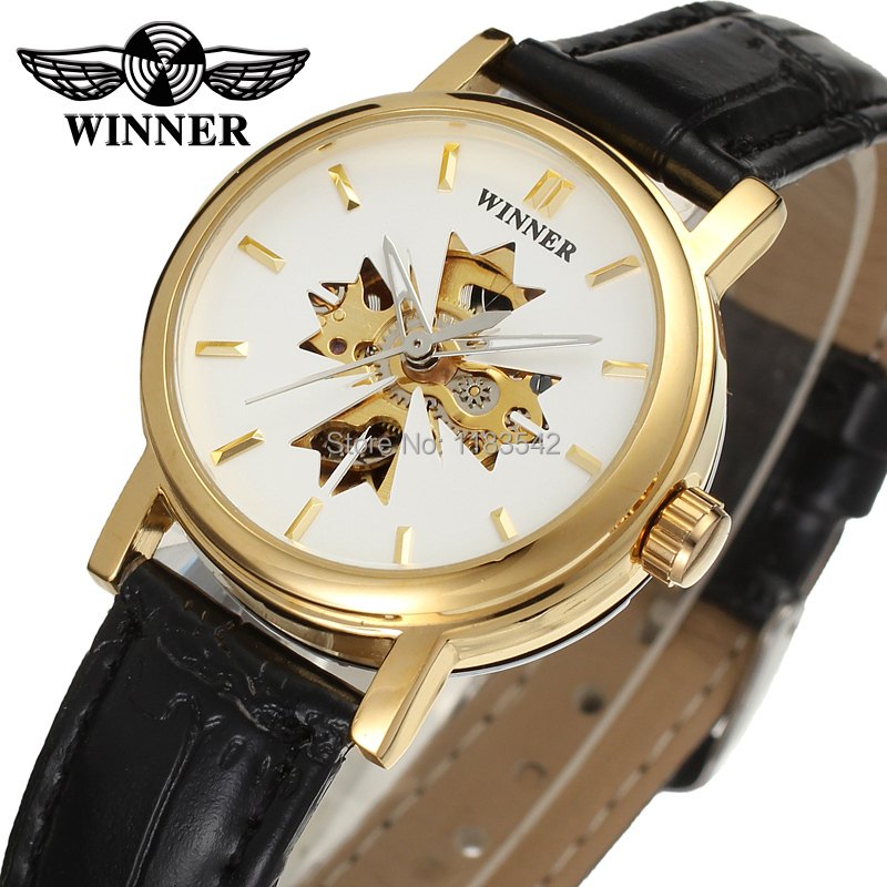 Winner Watch Newest Design Watches Lady Top Quality Watch Factory Shop Free Shipping WRL8048M3G1
