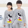 spring autumn kids minnie pajamas sets cartoon baby Sleepwear Girls Clothing Children's Clothes Boys Pyjamas Underwear 3-12 y