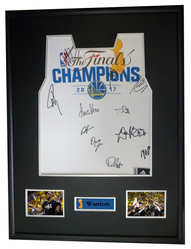 best loved 02ba2 ec175 US $2100.0 |Klay Thompson Kevin Durant Stephen Curry signed autographed  basketball shirt jersey come with Sa coa framed Warriors-in Frame from Home  & ...