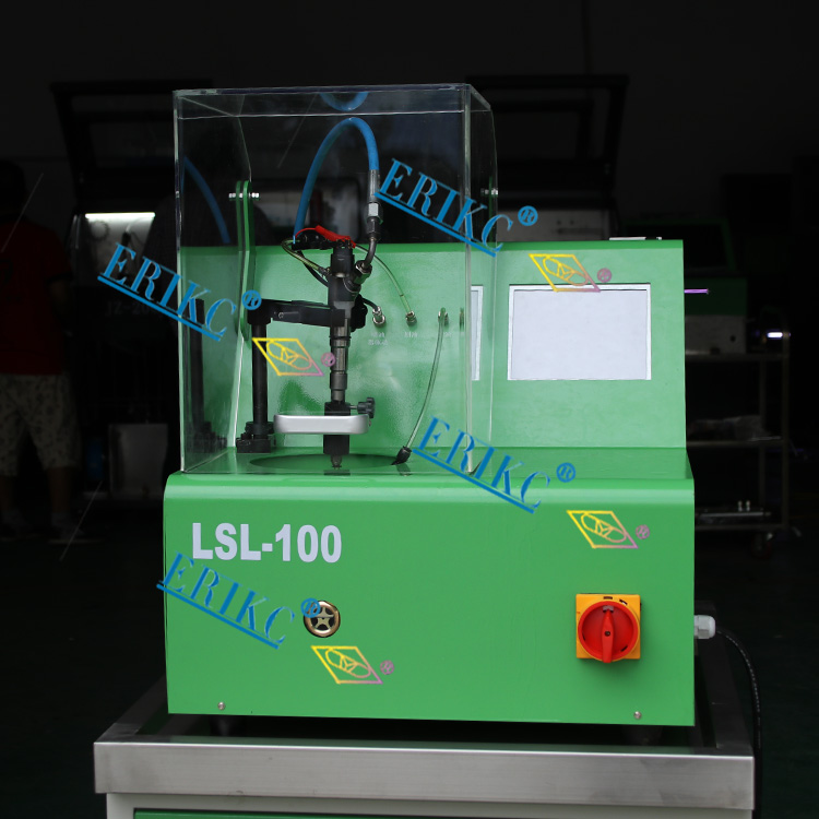 ERIKC LSL100 common rail engine test bench commom rail injector test bench fuel injection pump test bench