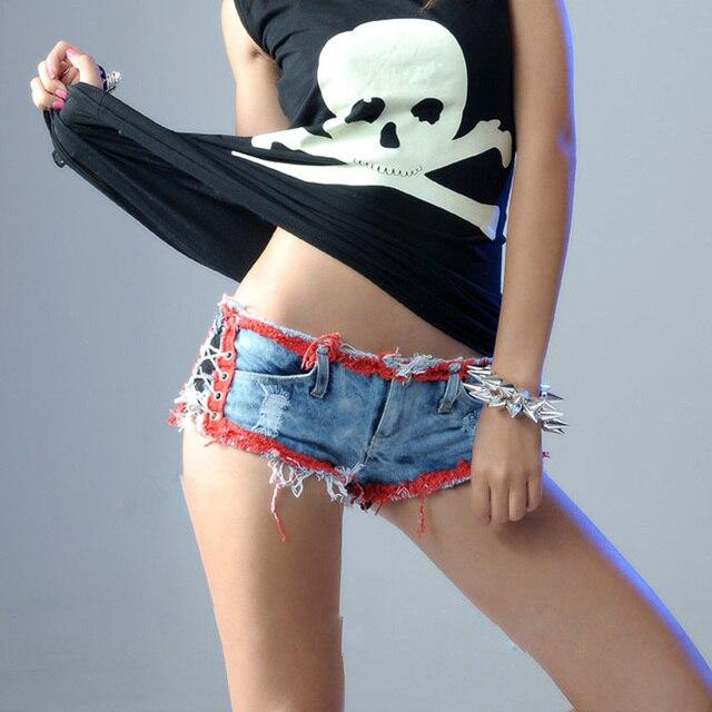 Queen Denim Lace Us10 Sexy For Women Shorts Thong 98dancing Jeans Micro Short Tassel White FemmeMini Club ShortsSummer In BQCoerdxW