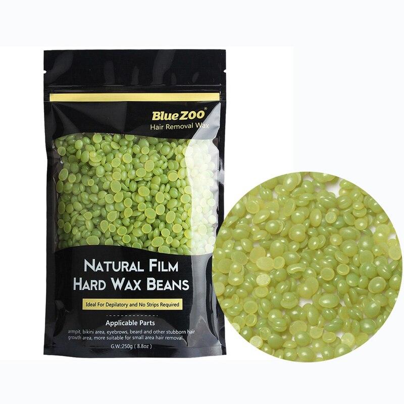 Зелёные бобы для волос