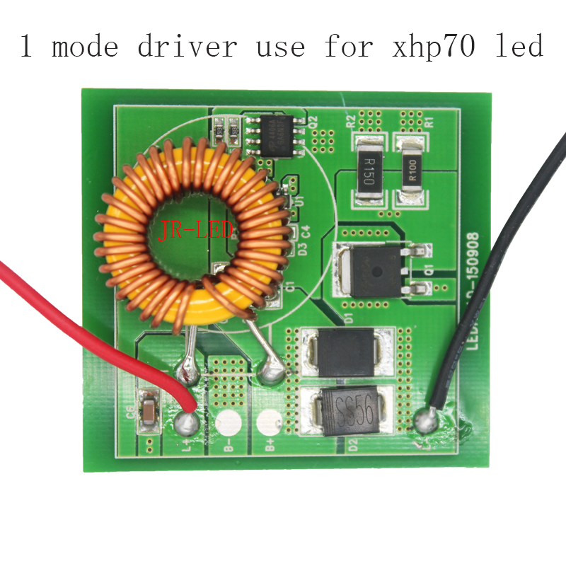 Cree XHP70 XHP-70 Led Driver One Mode Output DC 6V Input DC12-24V 4.5-4.8A Lighting Transformers can use for Car/Motorcycle transformers маска bumblebee c1331
