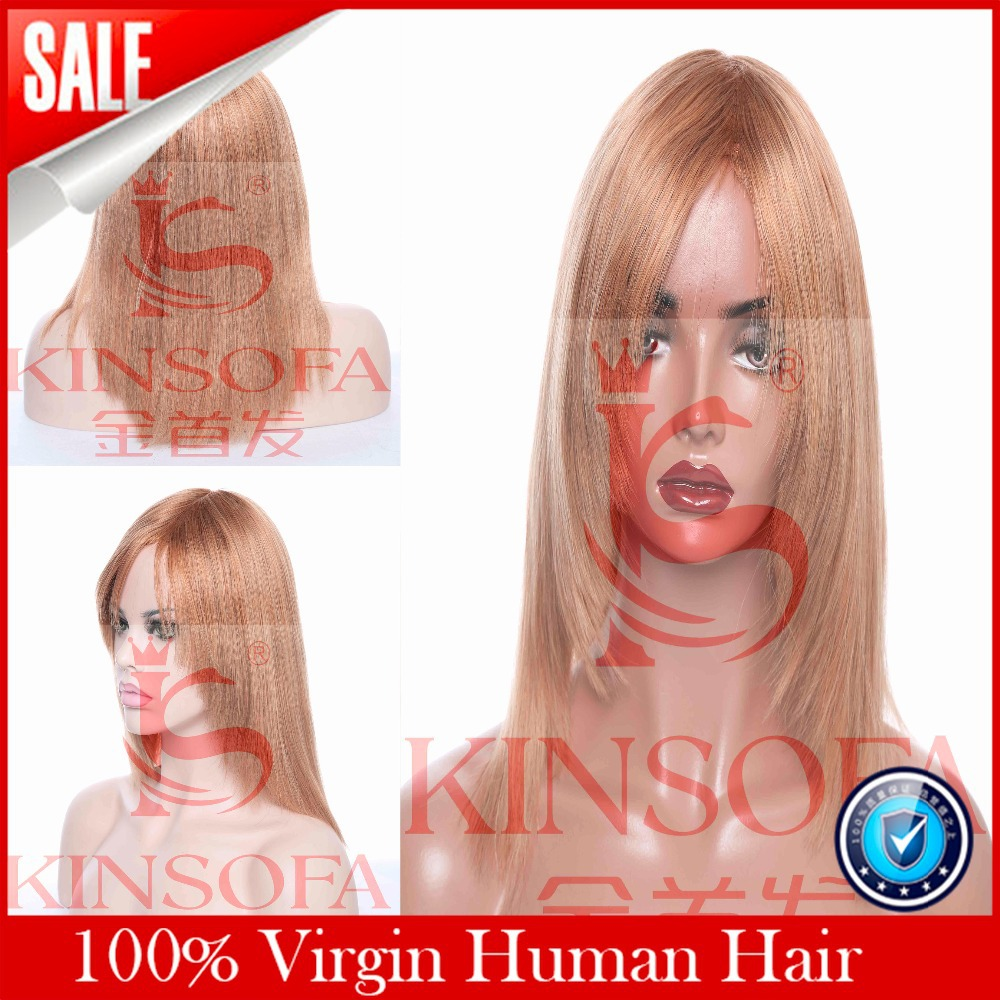 Full Lace Human Wigs Lace Front Wig Glueless With Baby font b Hair b font font