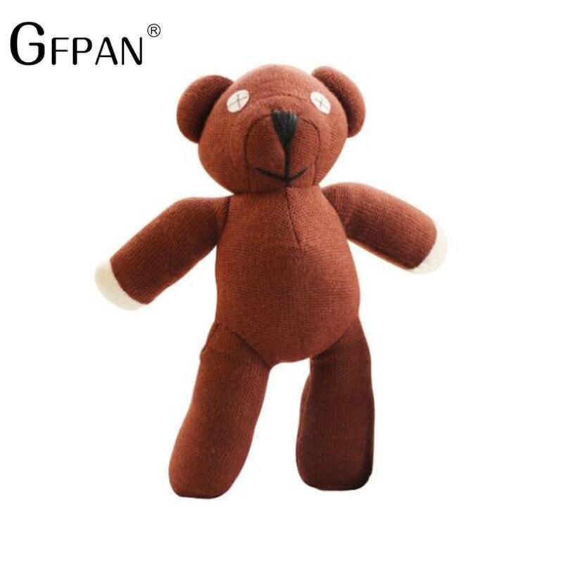 1pcs 35cm Genuine Mr. Bean Teddy Bear The Tactic Stuffed Toy Creative Bear Cute Plush Toys Dolls Birthday Gift For Kids