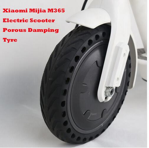 Xiaomi Mijia M365 Solid Tire Durable Upgraded Hollow Non Pneumatic Tyre Shock Absorber Anti slip Rubber Tyre Wheels For Scooter