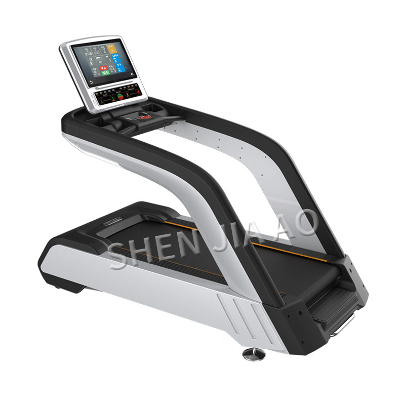 220 V tapis roulant commercial machine de course salle de Fitness ou maison ultra-silencieux multi-fonction formation sport équipement de Fitness chaud