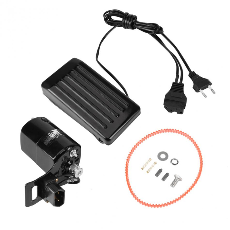 110V 180W Sewing Machine Motor 10000 r//min for Sewing Machine with Foot Pedal Handwork Accessories