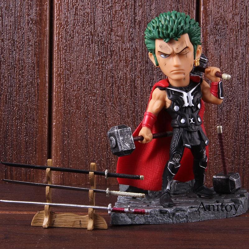 Anime One Piece Roronoa Zoro Thor Banpresto World Figure Colosseum BWFC PVC Action Figure Collectible Model Toy 1