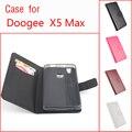 Case Для DOOGE X5 MAX Открыть Вверх и Вниз Сплошной Цвет флип Магнитный Бренд PU Кожаный Защитный Чехол Для DOOGE X5 MAX