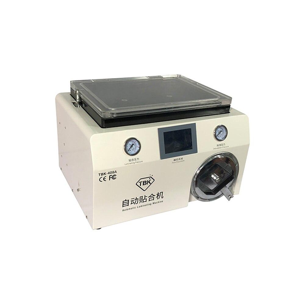 Новые TBK 408A 15 дюймов вакуумный насос ОСА мобильного телефона ЖК дисплей ламинаторы машина с прозрачной крышкой и автоклав пузырь Remover