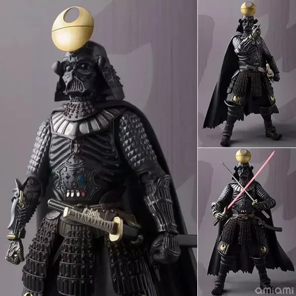Star Wars Samurai Taisho Darth Vader 1/7 scale painted PVC Action Figure Collectible Model Toy 17cm KT2271 star wars darth vader stormtrooper darth maul pvc action figure collectible model toy 15 17cm kt1717