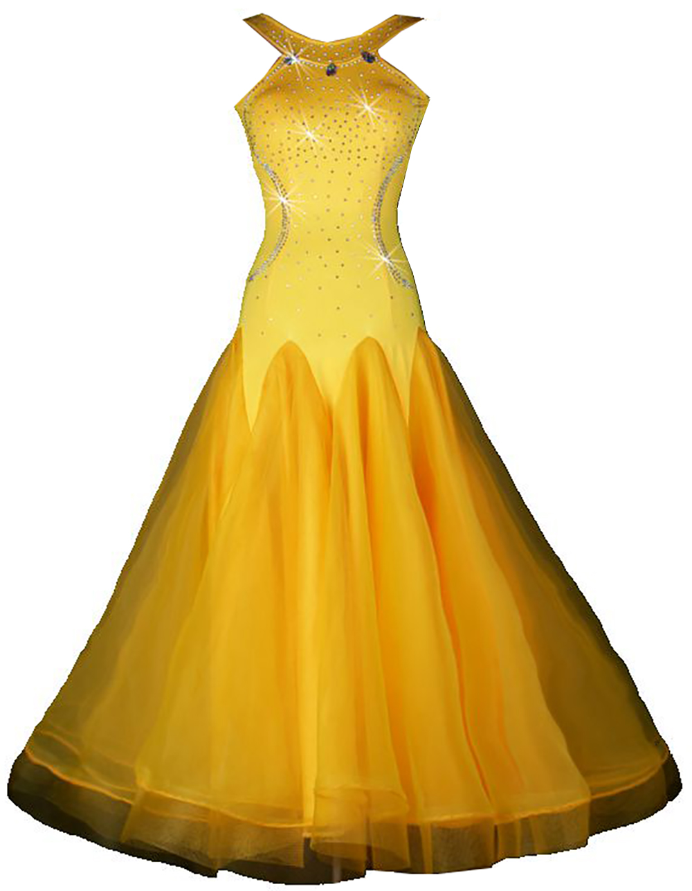 ballroom waltz dresses yellow competition ballroom dresses waltz ...