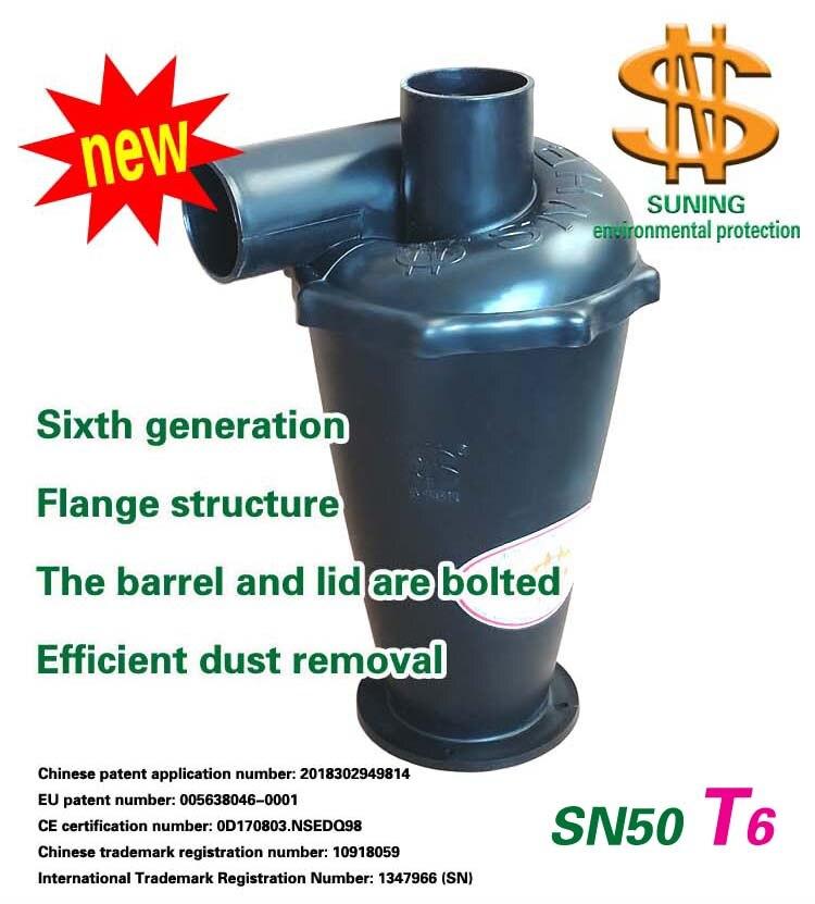 El ciclón SN50T6 (sexta generación Turbo ciclón) 1 unidades