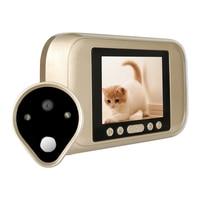720P HD Video 3.2 Inch LCD Electronic Door Bell Digital Peephole Viewer Door Camera Doorbell Home Security Mini Camera
